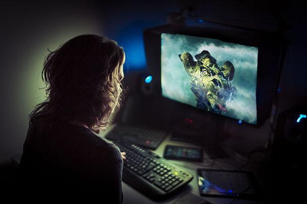 computer gamer